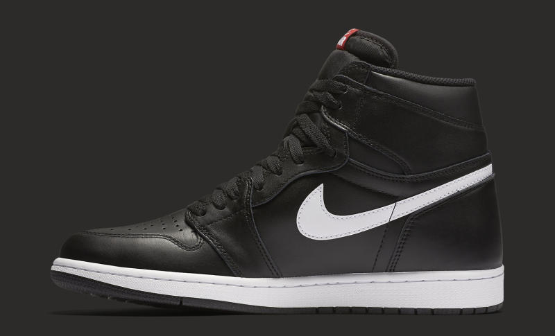 air jordan 1 black and white fake plant