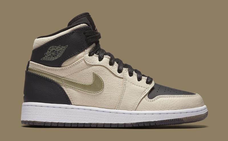 a4dd3083a2 Air Jordan 1 Pearl White Black Gold | Sole Collector