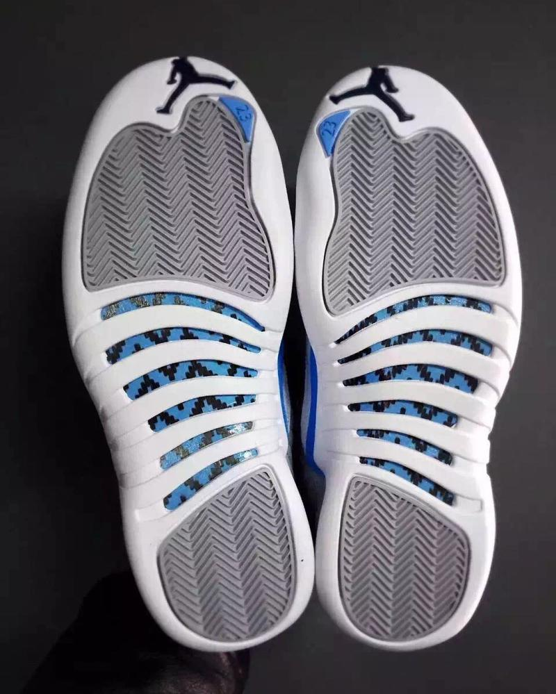 c489fa52f54 Air Jordan 12 Grey/University Blue-White | Sole Collector