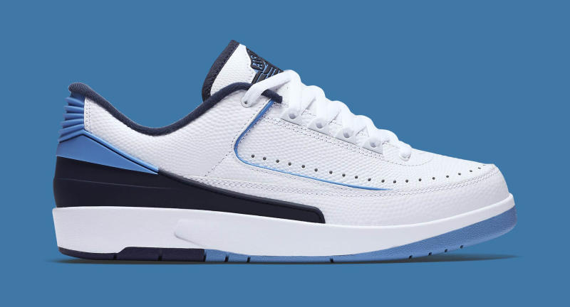 758ce7f542d1 Air Jordan 2 Retro Low Release Date  06 11 16. Color  White University  Blue-Midnight Navy Style    832819-107. Price   160