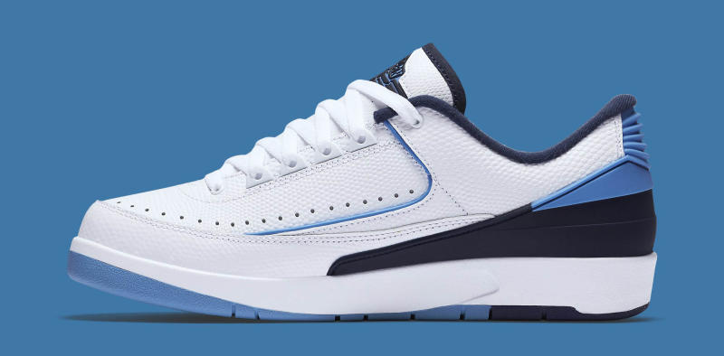 premium selection c7e54 f95a4 Air Jordan 2 Retro Low Release Date  06 11 16. Color  White University Blue-Midnight  Navy Style    832819-107. Price   160