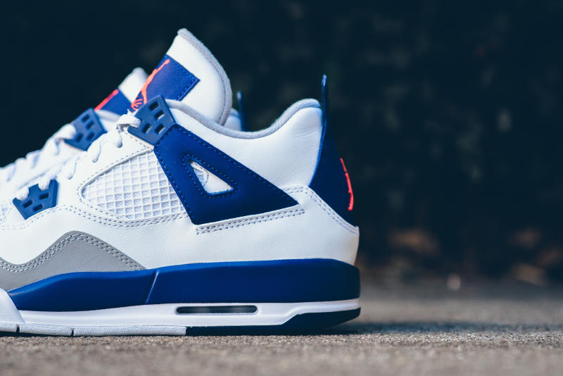 df71731da83 Air Jordan 4 White Orange Blue | Sole Collector