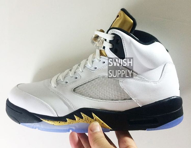 Air Jordan 5 Goin Coin Olympic Release Date 136027-133 (3)