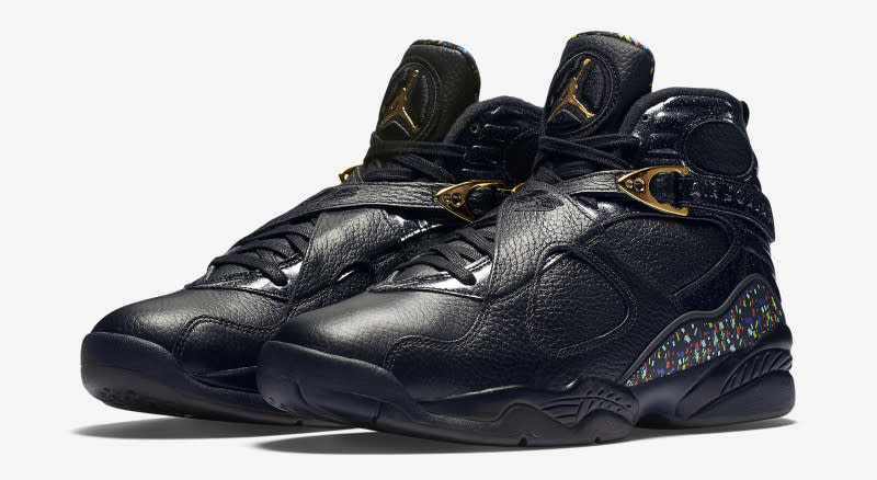 "b870c02d0189 Air Jordan 8 Retro ""Championship Pack"" Color  Black Metallic  Gold-Anthracite Release Date  06 25 16. Style    832821-004. Price   250"