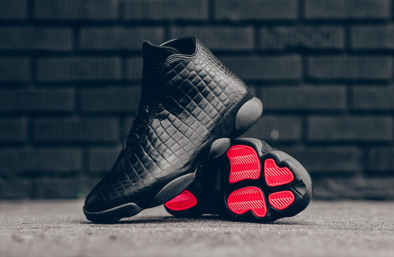 The Latest Premium Jordan Horizon Is Here. Black croc ... f7de7799b