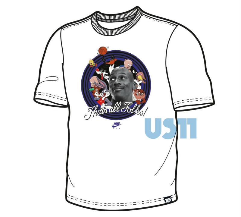 ebdca2050dec Space Jam Jordan 11 Shirt 2016 (4)