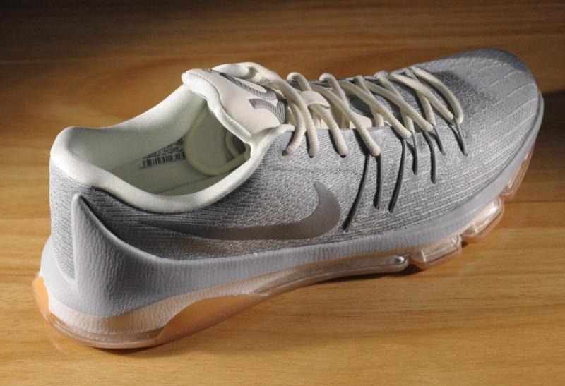bc160a950da0c6 Nike KD 8. Color  Wolf Grey Metallic Silver-Sail-White Style    749375-002