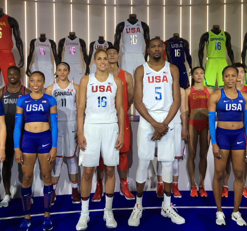 Here\u0027s How Nike is Outfitting Team USA Basketball for the 2016 Olympics.  Patriotic KD 9s and Hyperdunks.