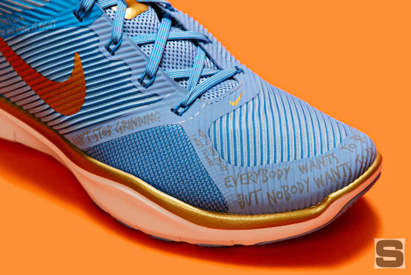 8c826a0143bb ... promo code for up close with kevin harts hustlehart nike sneakers. the  nike free train