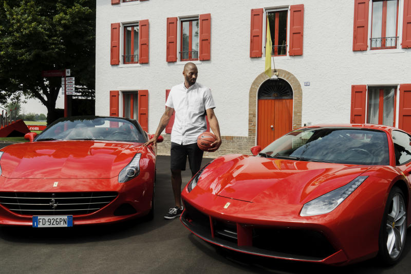 European Italy Collector Visits Bryant | on Kobe Tour Sole