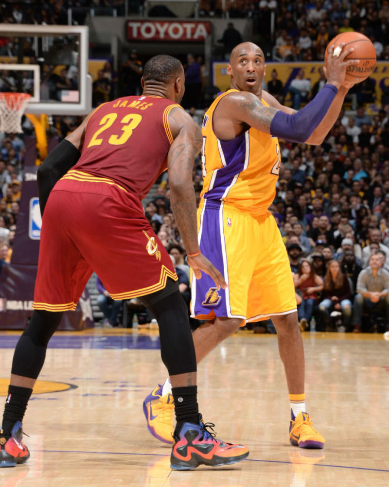 kobe vs lebron It's a mark of lebron james' greatness that all of his insane performances in this  wild nba postseason has been followed by comparisons to.