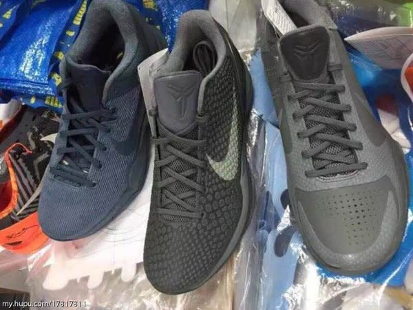 Nike Kobe Fade to Black Collection