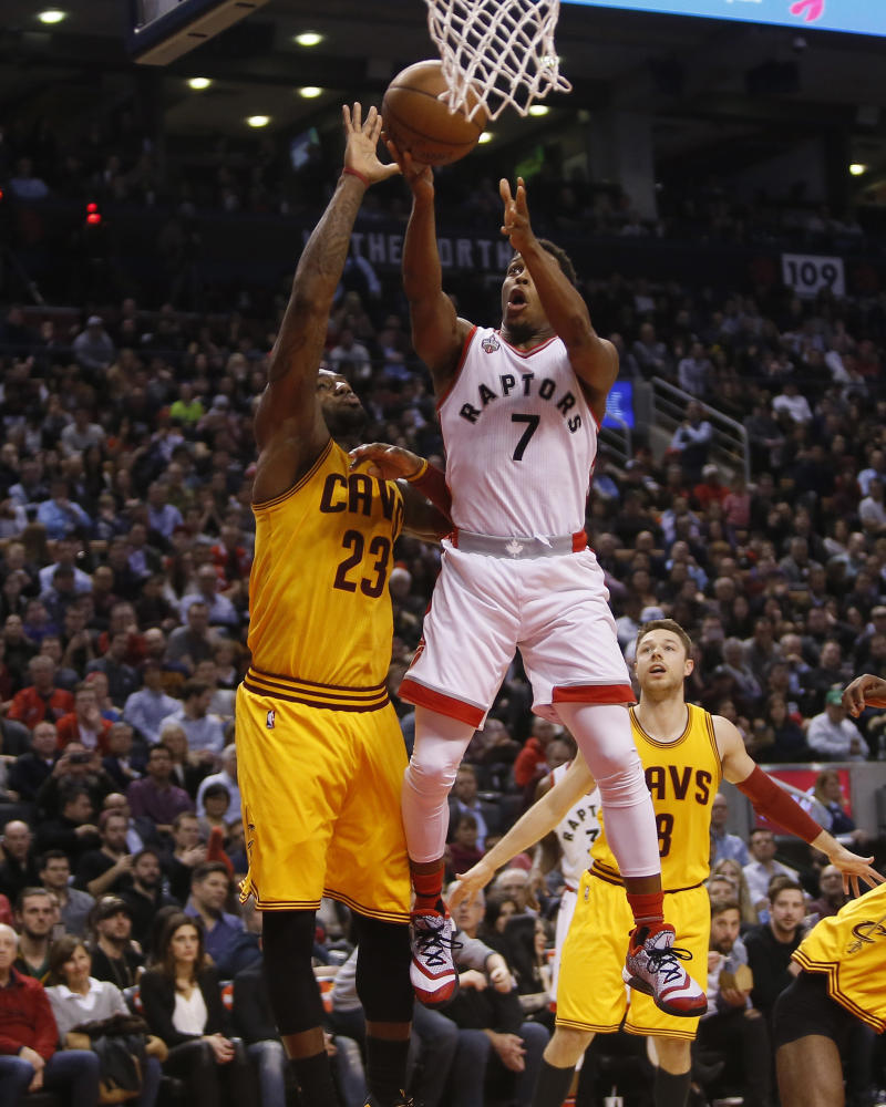 Kyle Lowry Scores 43 Points in the adidas Crazylight Boost 2.5 (2)