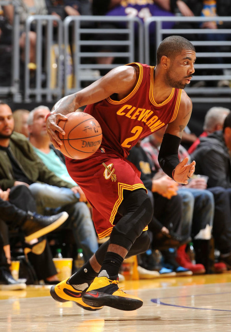 """Kyrie Irving Wears """"Bruce Lee"""" Nike Kyrie 2   Sole Collector"""