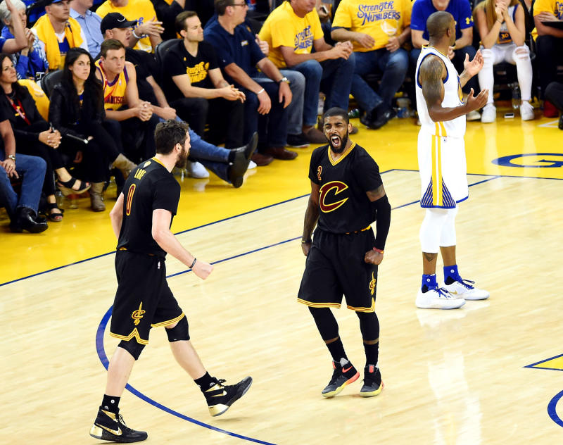 Kyrie Irving Game 5 NBA Finals 2016   Sole Collector
