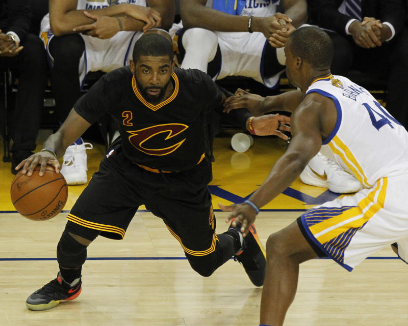 c086fe08b3c53 Nike Basketball has ensured that Kyrie s been plenty equipped with  exclusives in this postseason run