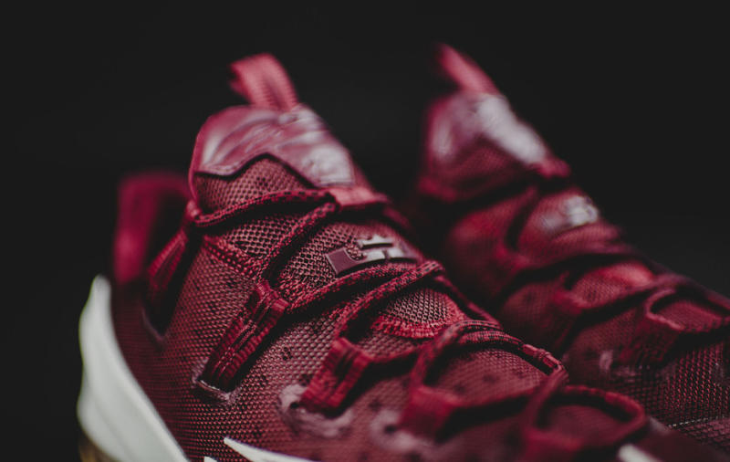 e2acb51b0dd Nike LeBron 13 Low Color  Team Red Sail-Black Price   175. Image via  thapointguy on NikeTalk