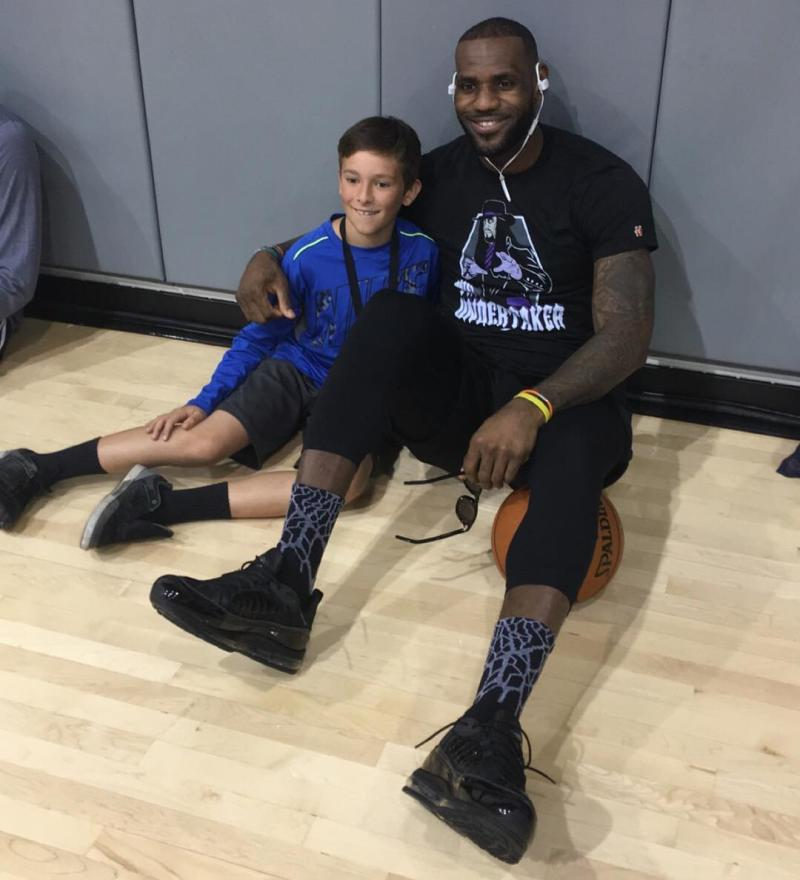 LeBron James Is Spotted Wearing Some Kind Of Nike Air Max 95