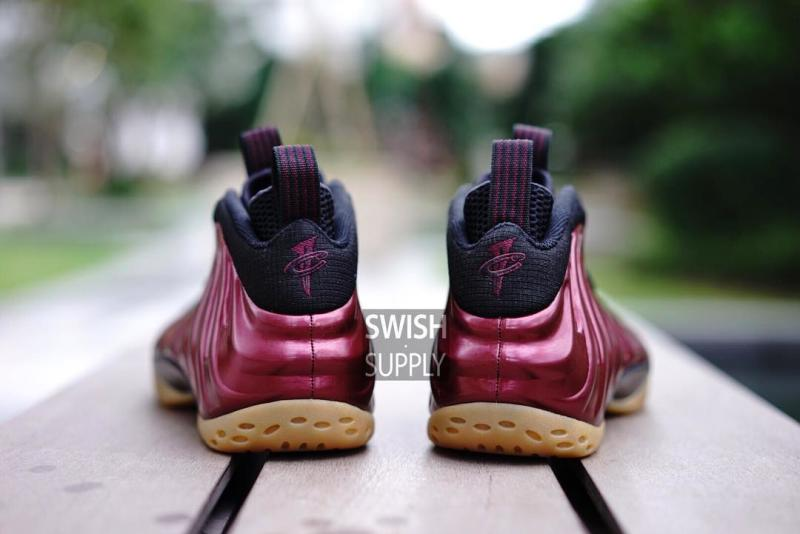 low priced eac73 2aa31 Nike Foamposite Maroon Gum | Sole Collector