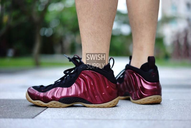 Nike Foamposite Maroon Gum Sole Collector