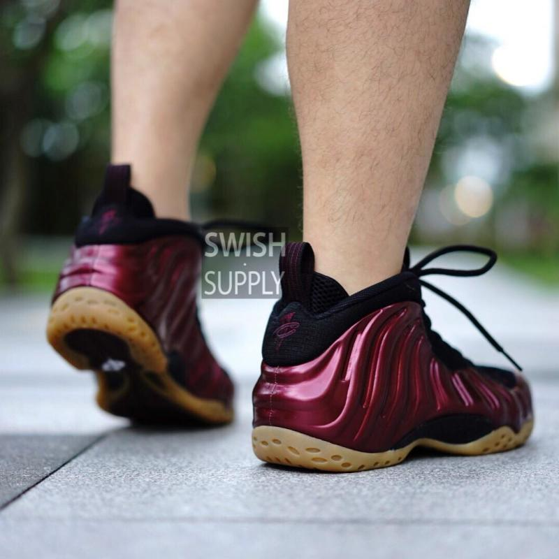 Nike Air Foamposite One Maroon/Gum 314996-601