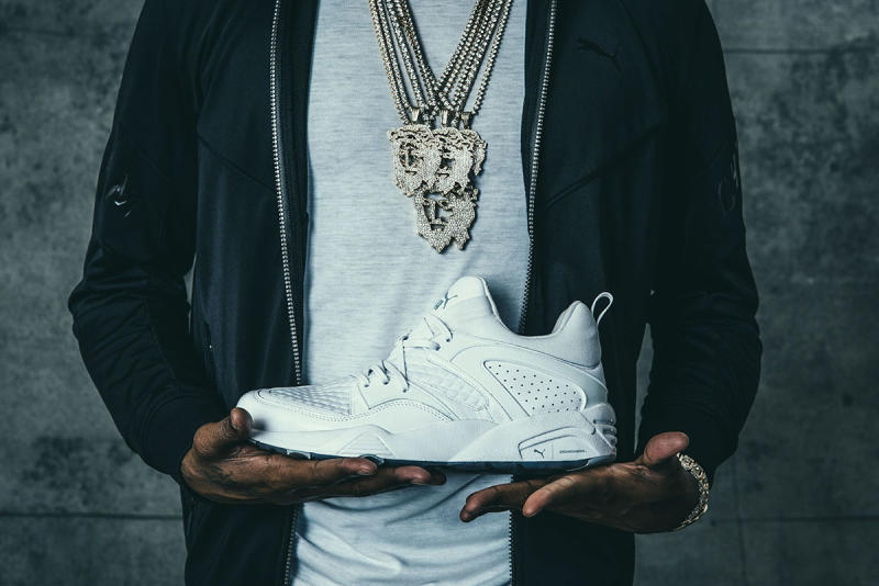 competitive price 54b01 15280 Meek Mill x Dreamchasers x Puma Blaze of Glory & Basket ...