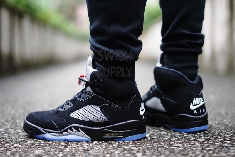 Metallic Nike Air Jordan 5 On Feet | Sole Collector