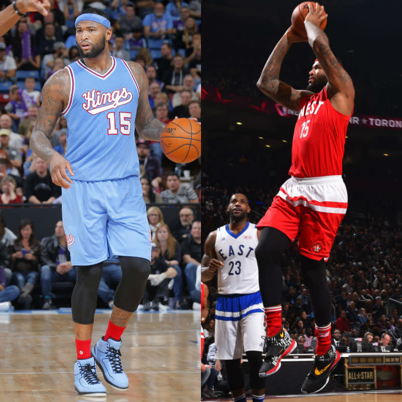 #SoleWatch NBA Power Ranking for February 21: DeMarcus Cousins
