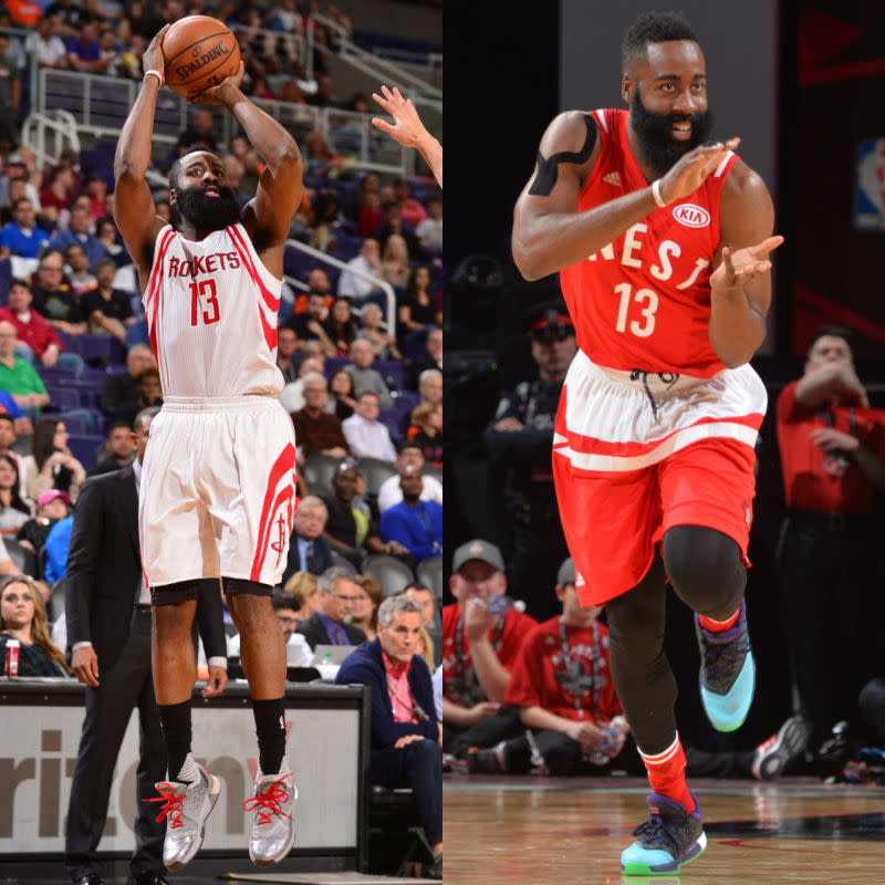 #SoleWatch NBA Power Ranking for February 21: James Harden