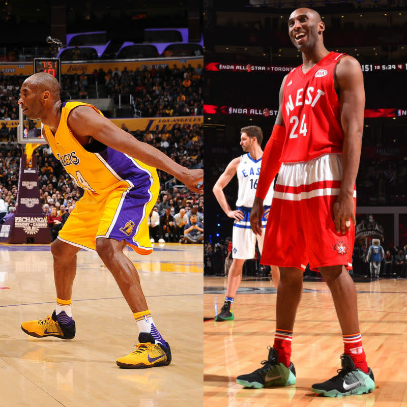 factory price 1b88a ff3fd  SoleWatch NBA Power Ranking for February 21  Kobe Bryant
