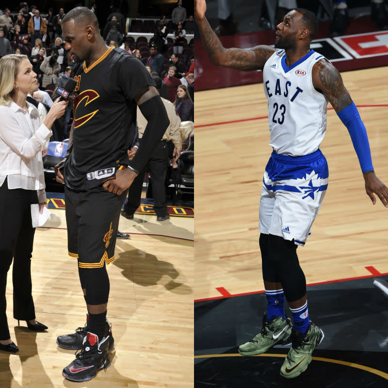 #SoleWatch NBA Power Ranking for February 21: LeBron James