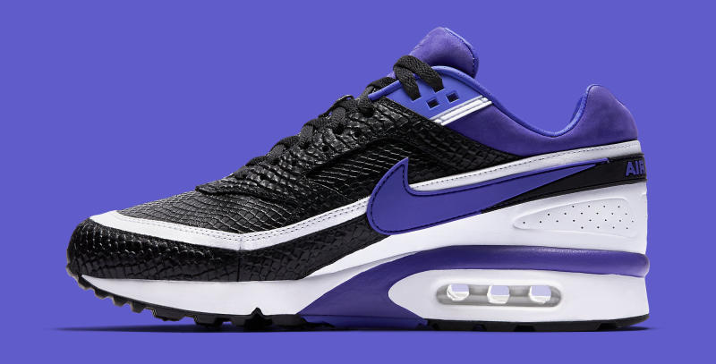 255729607643e Nike Air Classic BW Color  Black Persian Violet-White Style    819523-051