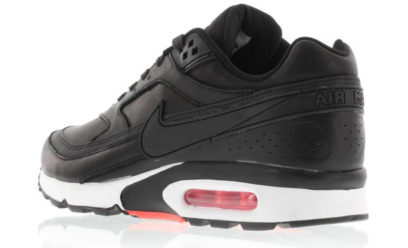 sale retailer 9192b 75791 Nike Air Classic BW Color  Black Black-Bright Crimson-Wolf Grey Style     819523-006