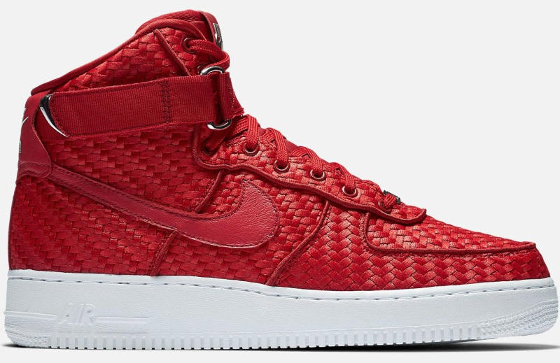 Woven Nike Air Force 1 High | Sole Collector