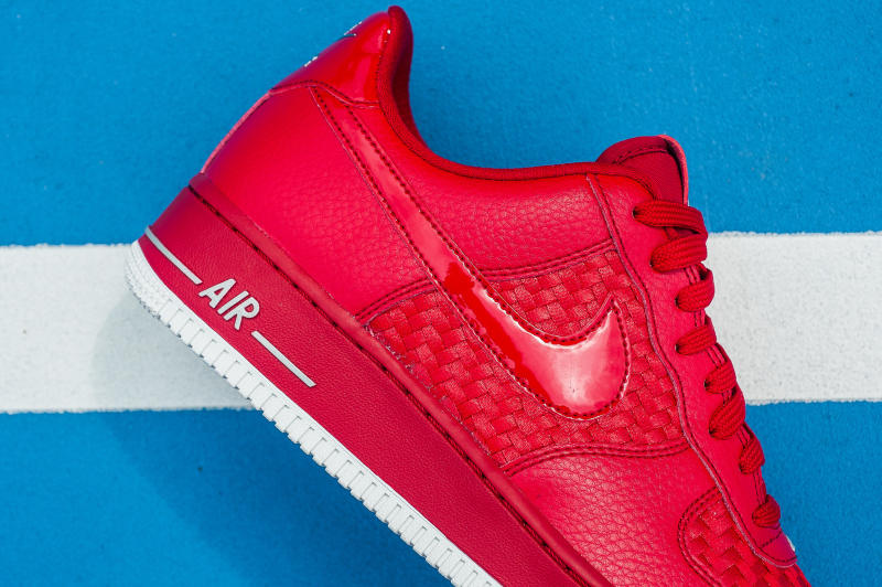 Nike Air Force 1 Low Woven Red (3)