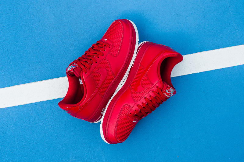 Nike Air Force 1 Low Woven Red (7)