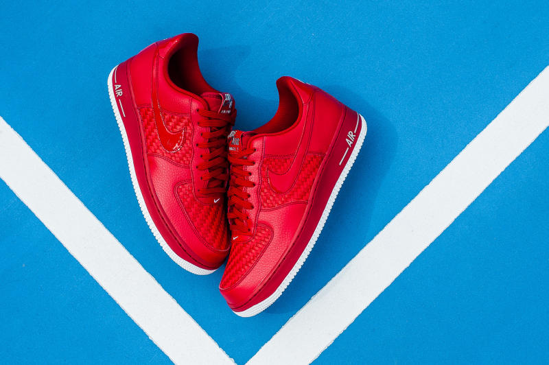 Nike Air Force 1 Low Woven Red (8)
