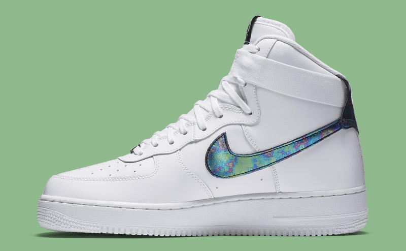ccebee37d Iridescent Accents for Nike's Latest Air Force 1