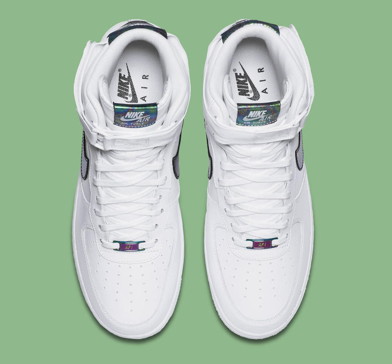 the latest 56075 b2a8e Iridescent Accents for Nike s Latest Air Force 1