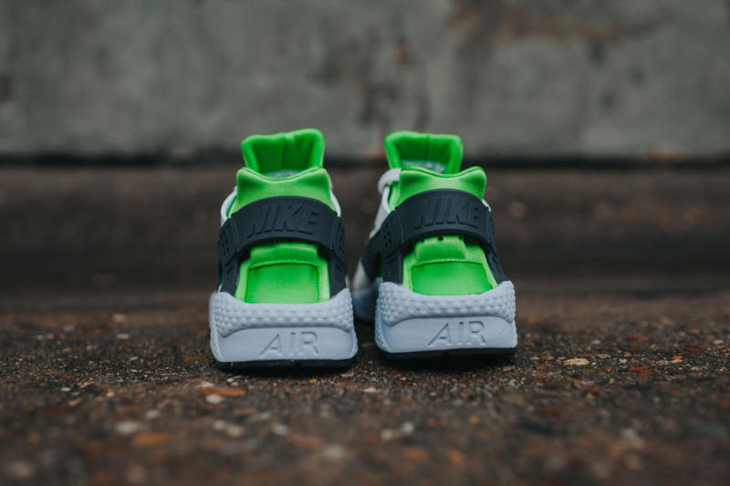 Nike Air Huarache Action Green/Vivid Orange (9)