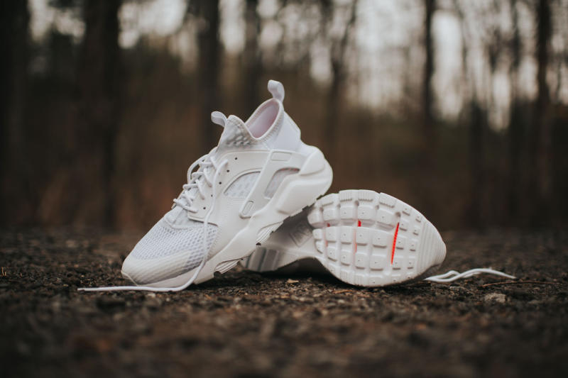 Nike Huarache Run Ultra Br White