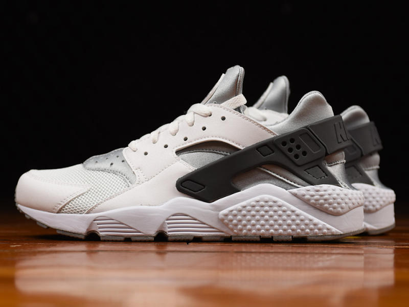 on sale 7f4dd af9f4 Nike Air Huarache White/Wolf Grey-Dark Grey 318429-103 ...