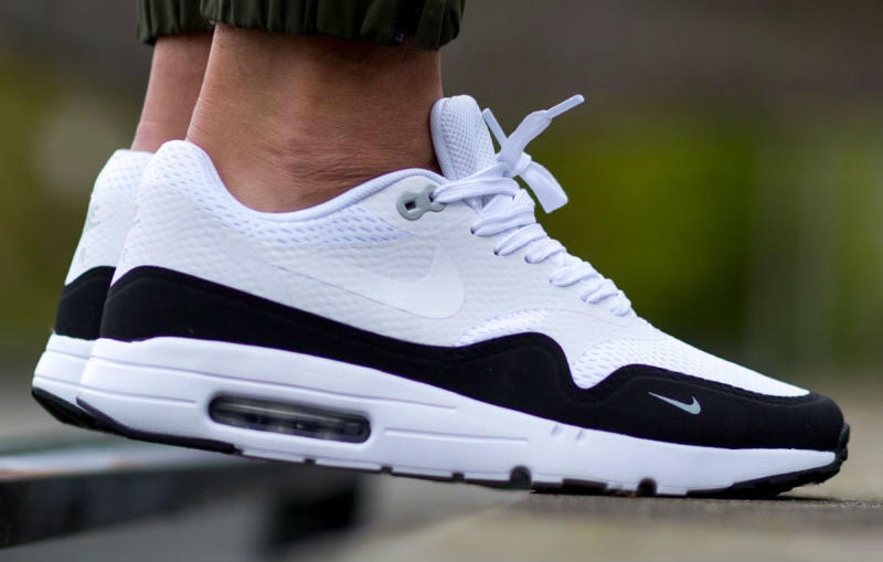 nike chaussures air max - Nike Air Max 1 Essential White/Black-Wolf Grey | Sole Collector