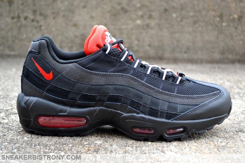 Nike Air Max 95 Essential Black/Challenge Red (3)