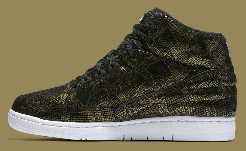 Nike Air Python Black/Gold (3)