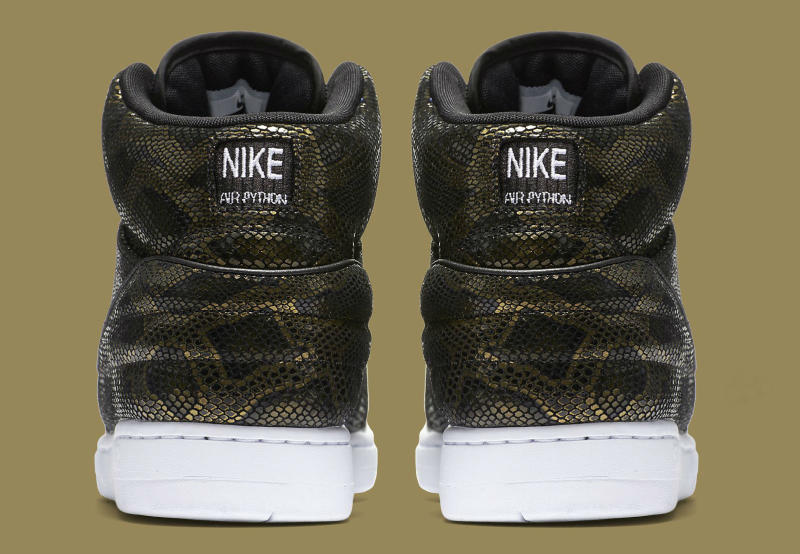 Nike Air Python Black/Gold (6)