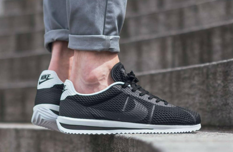new product 3f53f 6ea3a NIke Cortez Ultra Breeze Black 833128-001 (2)