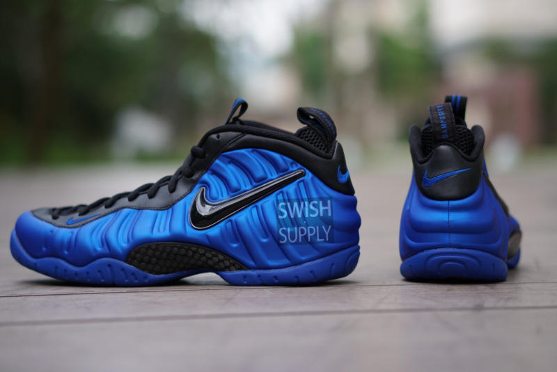 Nike Foamposite Blue