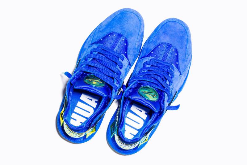 522398f8edbd Nike Huarache Lowrider Blue Crenshaw