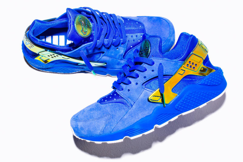 hot sale online 4eb3a 30b0d Nike Huarache Lowrider Blue Crenshaw | Sole Collector